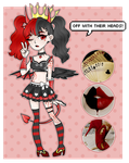 [Adopts]: Queen of Hearts by SimplyDefault