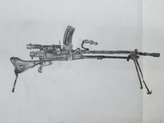 Type-99 Light Machine Gun by OhayouBaka