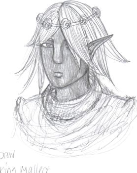 Drow King by neeses