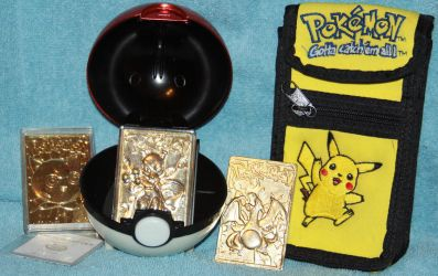 Pokemon Metal Cards and Gameboy Case - For Sale by Lovely-DreamCatcher