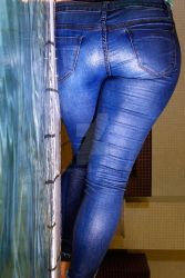 wet jeans by sweeetfeet