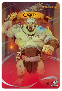 For Treasure! Boss-Ogre by BettyElgyn