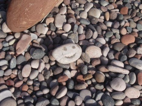 The Mysterious Happy Rock by Thornacious