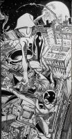 Gwen Stacy Spiderwoman and New Batgirl final by Z-control