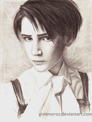 Attack on Titan - Rivaille by gimimoroz