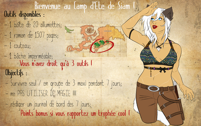[Naavina]  Siam Special Summer Event by lurichio-chan