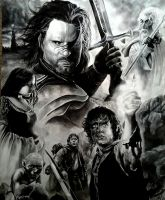 Lord of the Rings: Return of the King by Marrannon