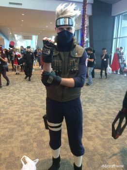 The Copy Ninja Kakashi Hatake by HikazePrincess