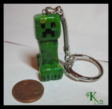 Fimo Minecraft-Creeper by Anubis2113