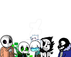 Sans Pile! Draw your sans on here! by Underfeels-AU