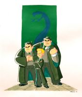 Gang of Slytherin by CROMOU