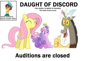 Daughter of Discord audio drama confermed by Lazbro64
