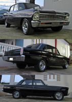 66' Chevy II by Mister-Lou