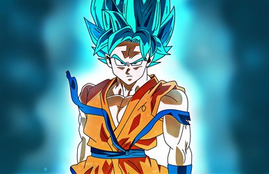 Super Sayan Blue (Super Sayan God Super Sayan) by xDome