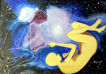 Our body is the Universe by Cococake98