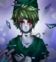Ben Drowned -Universe by Cross-Hatch001