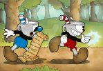 Cuphead and Mugman: Don't Deal with the Devil by Mockingbyrd
