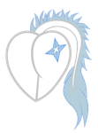 Snowy Solstice flank heart commission 4/6 by XVanilla-TwilightX