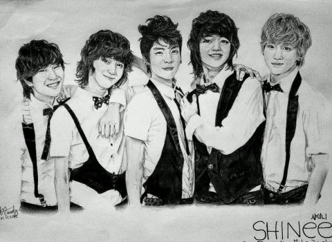 SHINee by NemoraliaEgnever