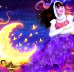 I can make your wish come true - Genie in a Bottle by Sarina-Rose