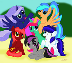 My Oc Collection by misty-and-ocean