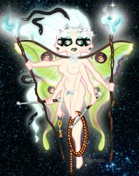 Hecate: Triple Moon Goddess by andromedagallery