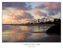 Corona Del Mar Reflections by QNetX