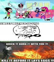 My reaction to Teen Titans GO by Asaylum117