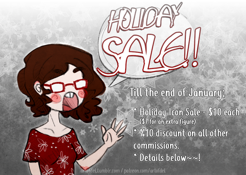 Holiday Sale by delusionmaker