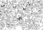Sonic the Comic Online 275 wallpaper inks by ThePandamis