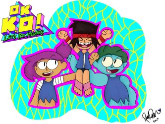 OK K.O. Lets Be Heros! by AquaProductions