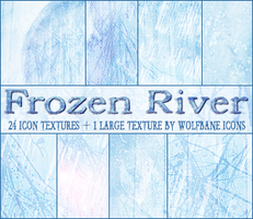 Frozen River Texture Set by jordannamorgan
