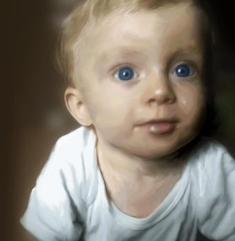 Alfie Digital Painting by thesoulcanwait