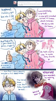 APH: Ask RusAme - do you watch MLP together? by PunPuniChu