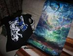 Ys VIII Lacrimosa of DANA Scroll and Shirt by marblegallery7