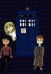 Doctor Who: The Anime COLOUR by laprasking
