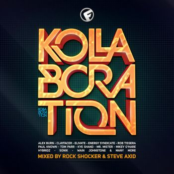 Kollaboration CD Cover by corecubedesign