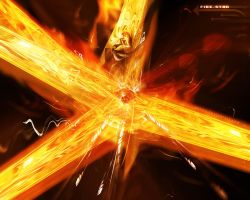 Fire Star by coxao