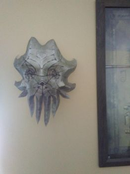Precisionpapercraft's Skyrim cultist mask by RJB13
