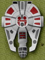 The Renegade (Ace's YT-2000 Light Freighter) by Unownace