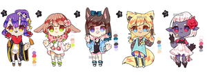 Adoptables [OPEN 1/5] - set price by Dupllo