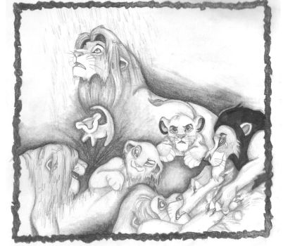 Tribute to The Lion King by zepheenia