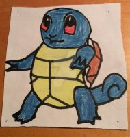 Squirtle Drawing by Darkswag