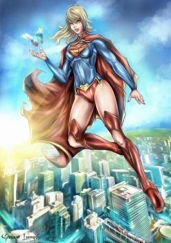 New 52 Supergirl - Chaos Theory by GobGrael