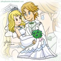 Request: Link x Lucy by pikaplusmin