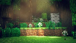 Blocky Forest Grove by TheDuckCow