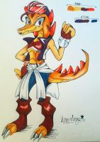 Ash the Alligator :NEW FC: by Astral-Wingz