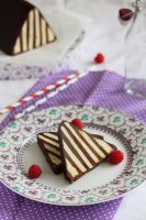 Chocolate Dobos torte by kupenska