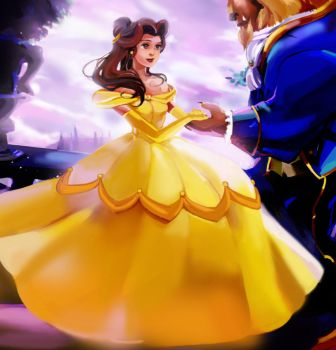 Beauty and the Beast by Athena-chan