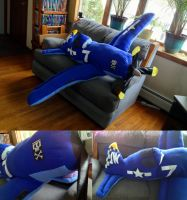 Giant Plush Skipper Riley from Planes by SarahMiele